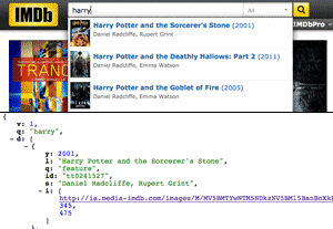 IMDB Search JSON