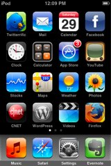 Firefox Icon on iPhone Home Screen