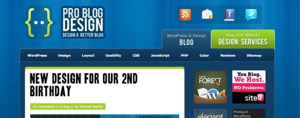 Pro Blog Design 2009 Redesign
