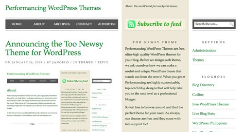 Too Newsy Theme