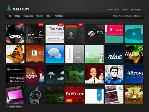 Gallery theme by Smashing Magazine